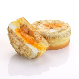 Creamy Mushroom Sausage & Cheese Eggwich