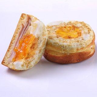 Honey Baked Chicken Ham & Cheese Eggwich